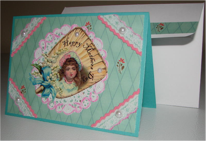 Mothers Day Fan Card