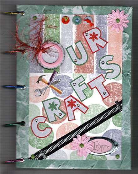 Our Crafts Book (front)
