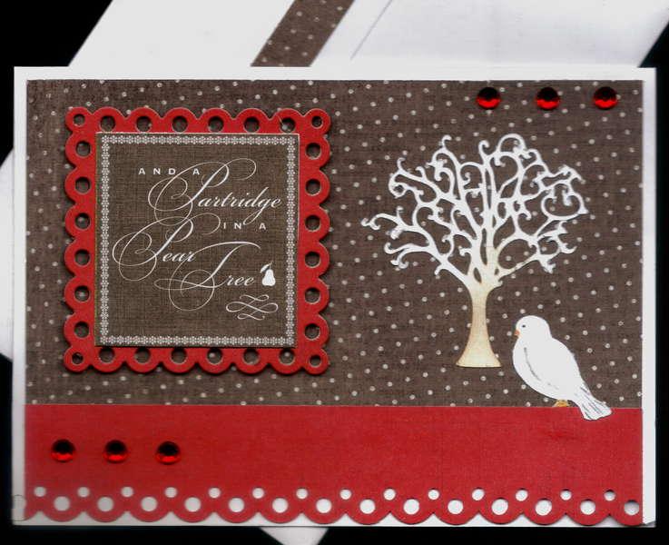 Partridge In A Pear Tree mas Card