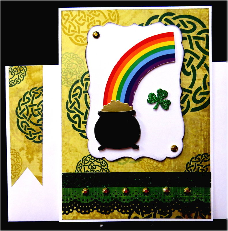 Pot Rainbow St. Patrick's Day Card