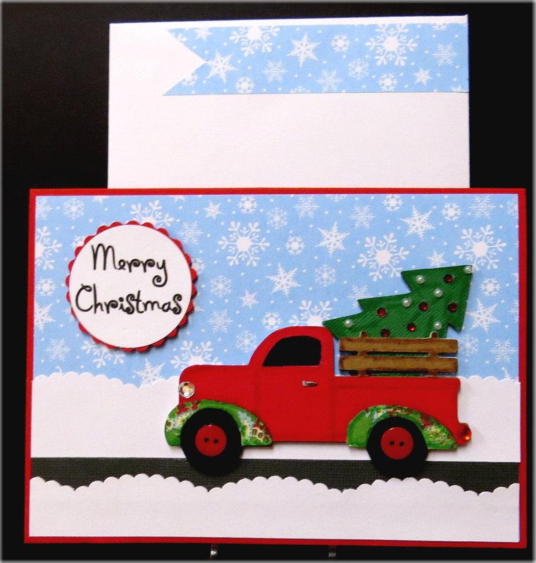 Truck Christmas Card