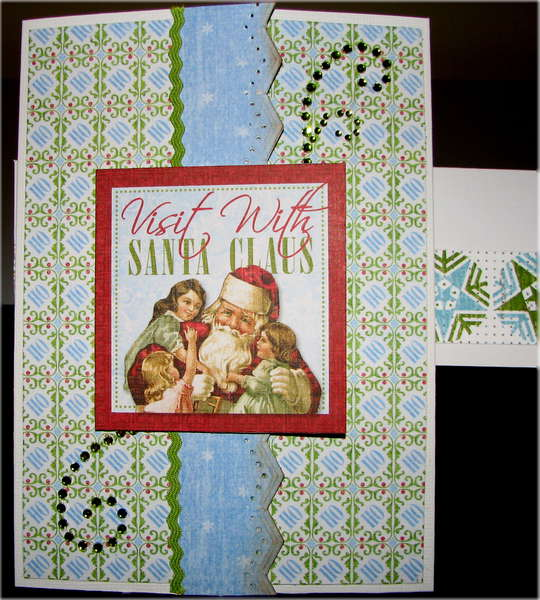 Visit With Santa Claus Card