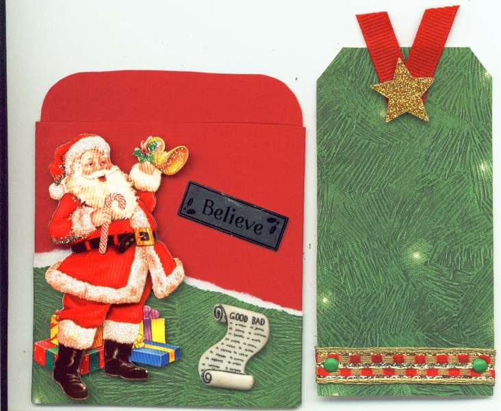 Library Pocket - Christmas Group