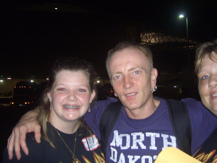 Meeting Phil Collen of Def Leppard