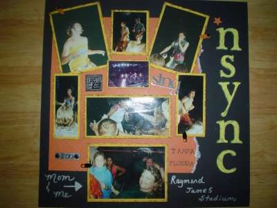 *Nsync Concert 2001