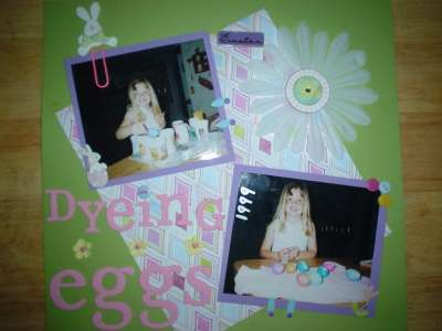 """Dyeing Eggs"" 1999"