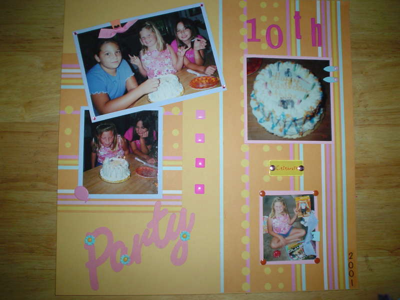 Paige's 10th Birthday Party