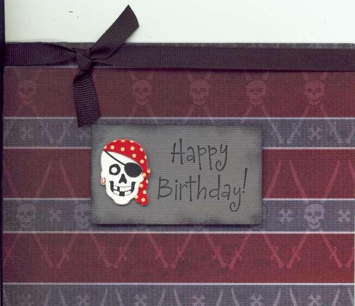 """PIrate"" Birthday Card"