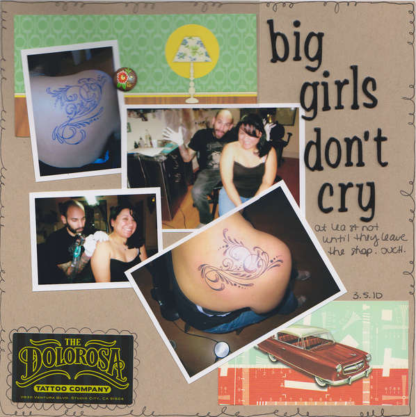 Tattoo - Big Girls Don't Cry