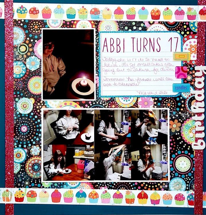 Abbi Turns 17