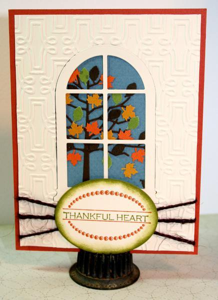 Thankful Heart - Fabulous Fall Card