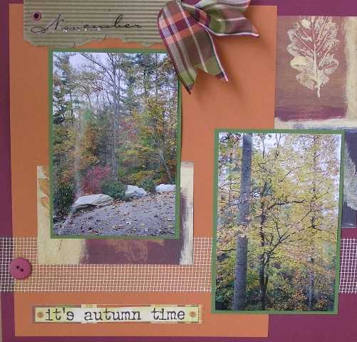 Fall (left page)