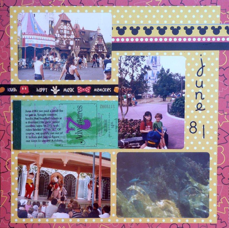 Disney June 1981