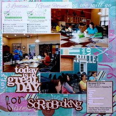 A Great Day for Scrapbooking