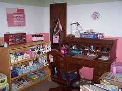 Corner work area