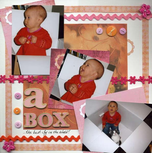 A Box (July Cricut Challenge)