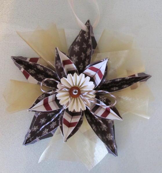 Cricut Challenge Ornament