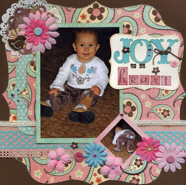 Joy of My Heart (July Cricut Challenge)