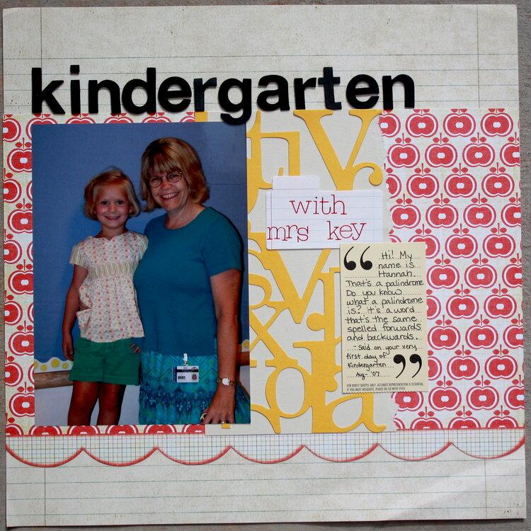 Kindergarten with Mrs. Key
