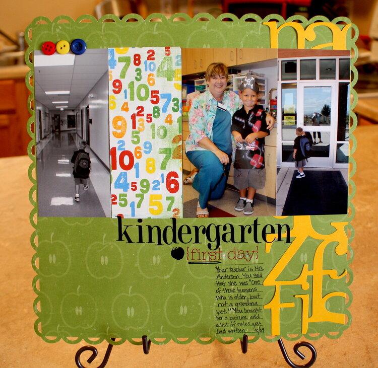 Kingergarten {First Day}