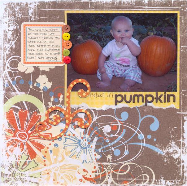 perfect lil pumpkin