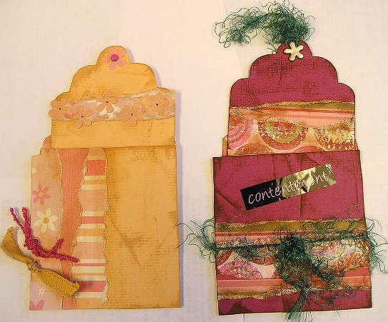 KarenR - Handmade Girl Swap Library Pockets & Tags