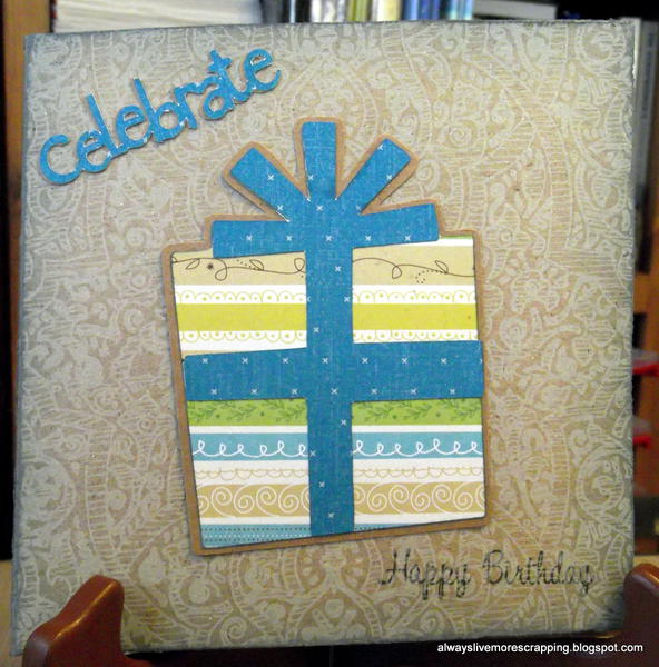 Present Birthday Card
