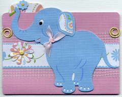 Elephant File Folder for DisneyLisa's Spring Stack Swap