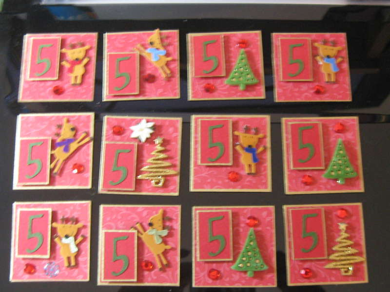 Cookie Sheet Countdown-Number 5