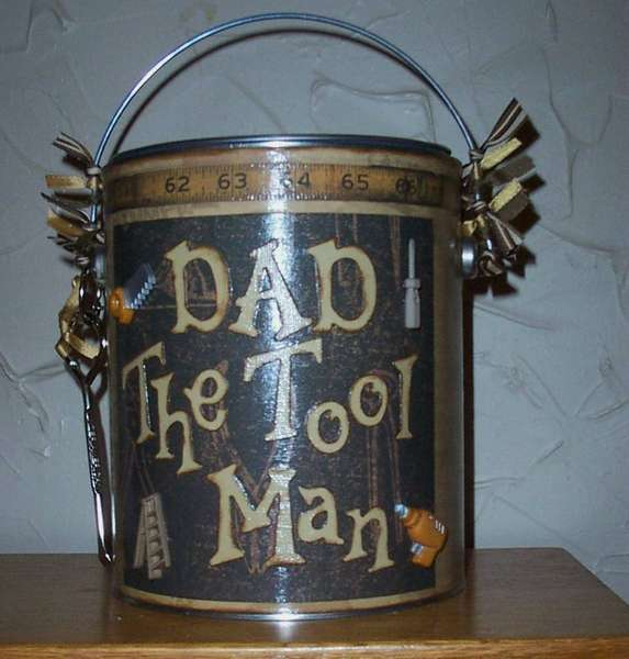 Altered Paint Can-Dad