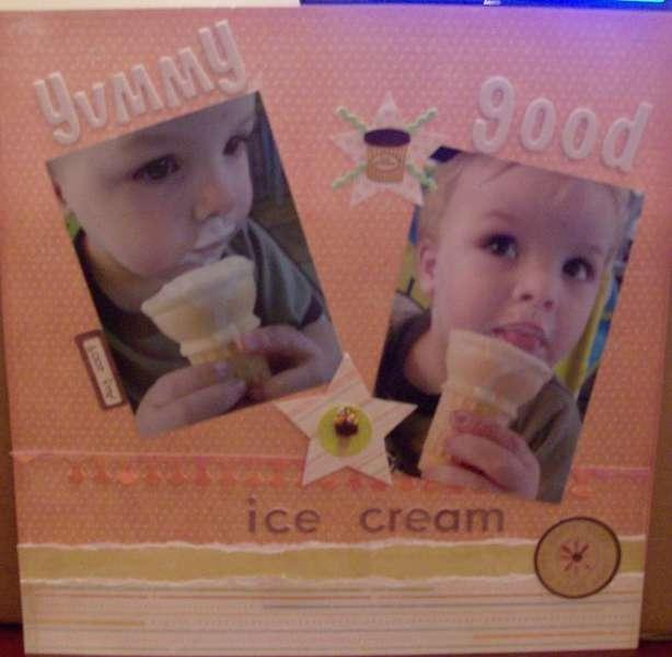 Yummy good ice cream