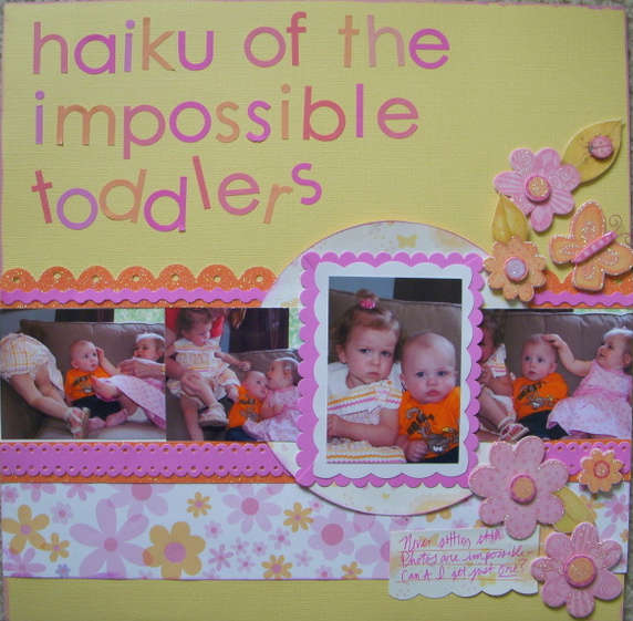 Haiku of the Impossible Toddlers