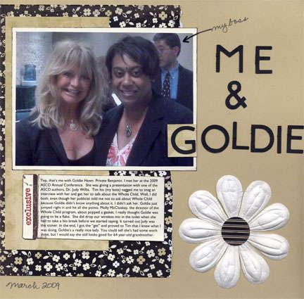 Me & Goldie