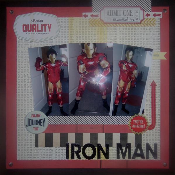 Halloween Iron Man