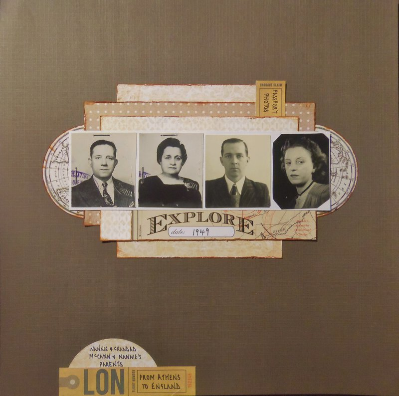 1949 Passport Photos