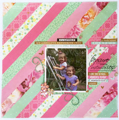 Treasured Memories Layout