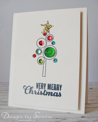 Very Merry Bling Card