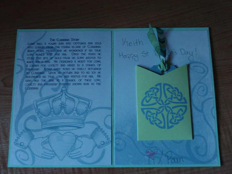 St Patricks Day Card (Inside)