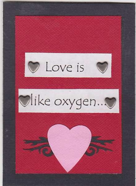 Love = Oxygen