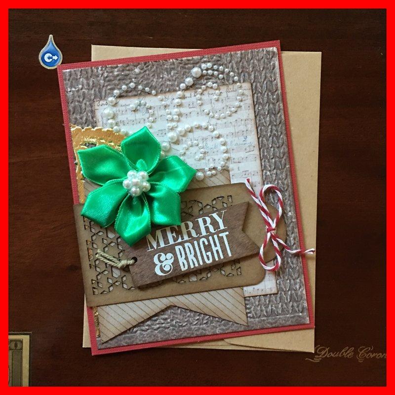June Card Sketch Challenge - Bonus Sketch Merry and Bright