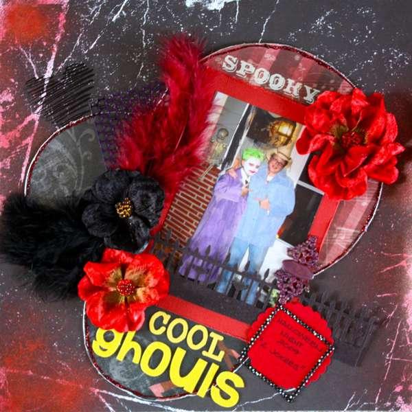 Cool Ghouls - Scraps of Darkness Blog Challenge