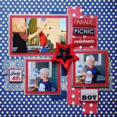 American Boy - Serendipity I deserve it all July Kit
