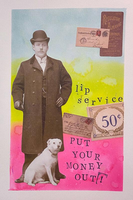Art Journal Lip Service