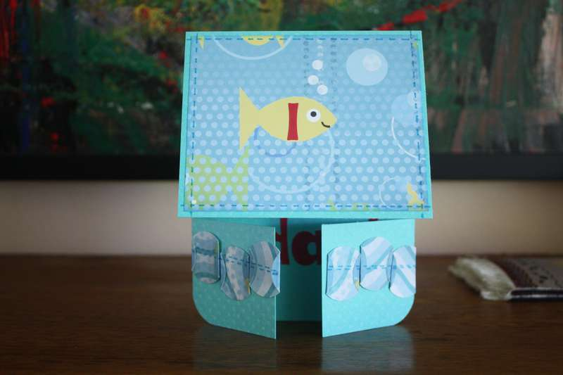 August Card Challenge - Double Dutch Fold