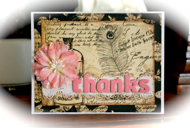 Thanks - November Card 12
