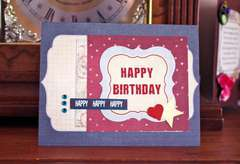 Card 16 - Happy Happy Birthday