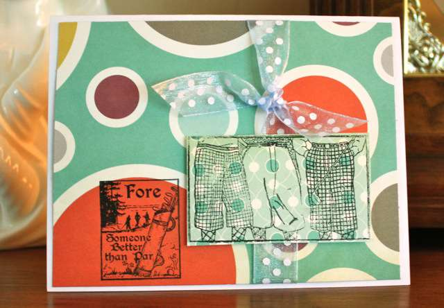 Fore Someone Special October 20/20 Card 1