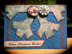 Card 9  - November Warm Christmas Wishes