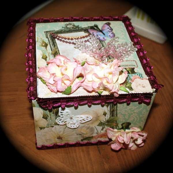 Cigar Box for Mini Album for Katie