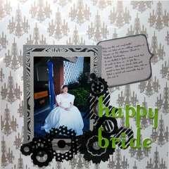 Happy Bride *July See-Through Challenge*